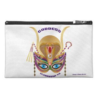 Mardi Gras Cleopatra-VII Read About Design Below Travel Accessory Bag