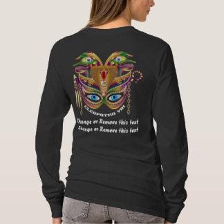 Mardi Gras Cleopatra-VIII Read About Design Below T-Shirt