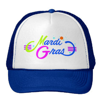 Mardi Gras Color Cap
