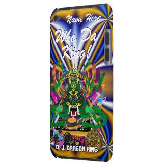 Mardi Gras D. J. Dragon King View Hints please iPod Touch Cases