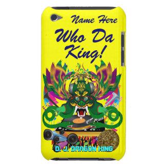 Mardi Gras D. J. Dragon King View Hints please iPod Touch Case-Mate Case