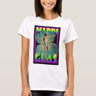 Mardi Gras, Dancer in feathers T-Shirt