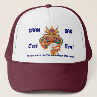 Mardi Gras Fathers Important view notes Trucker Hat