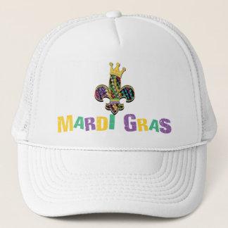 Mardi Gras Fleur Celebrate Trucker Hat