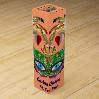 Mardi Gras Gift Wine Box? Maybe, Maybe Not! Wine Bottle Boxes
