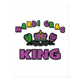 Mardi Gras King Postcard