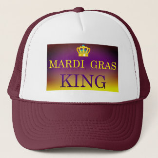 Mardi Gras King Trucker Hat