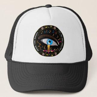 Mardi Gras Mask-Seize the night Trucker Hat