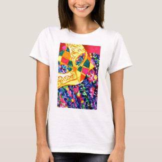 Mardi Gras Mask T-Shirt