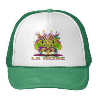 Mardi-Gras-Mask-The-Queen-V-4, Z-La Reine Cap