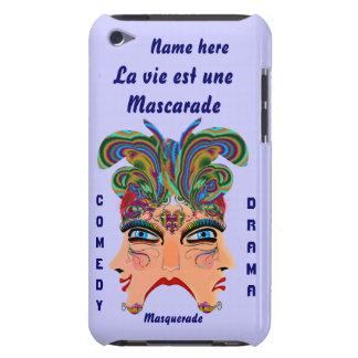 Mardi Gras Masquerade Comedy Drama View Hints Plse iPod Case-Mate Cases