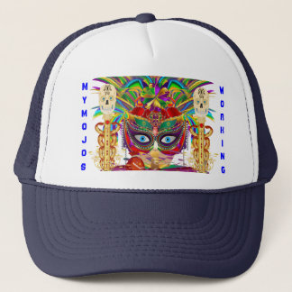 Mardi Gras Mojo Priestess View Notes Please Trucker Hat