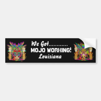 Mardi Gras Mojo PriestessTheme View notes Please Bumper Sticker