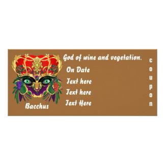 Mardi Gras Mythology Bacchus View Hints Please Rack Card