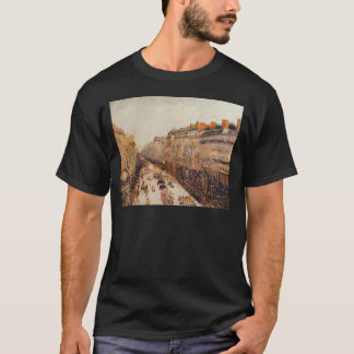 Mardi Gras on the Boulevards by Camille Pissarro T-Shirt