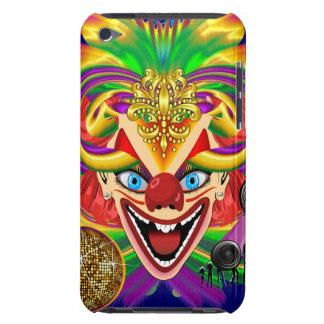 Mardi Gras Party Clown View Hints Please iPod Case-Mate Cases