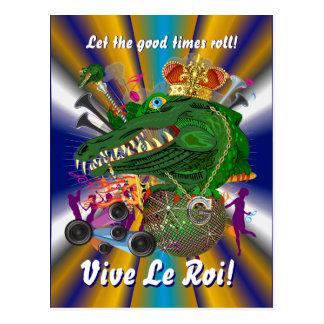 Mardi Gras Party Please View Notes Postcard