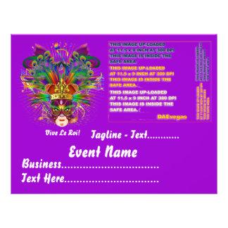 Mardi Gras Party Theme  Please View Notes Flyers
