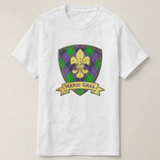 Mardi Gras Pattern mardi-gras T-Shirt