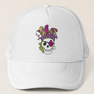 Mardi Gras Pirate Tee Trucker Hat