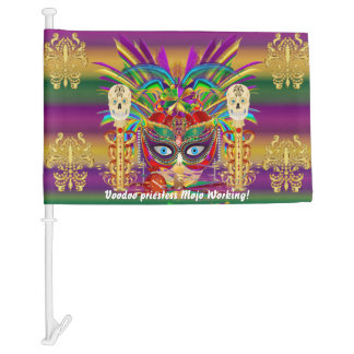 Mardi Gras Priestess HOT Read Description Below Car Flag