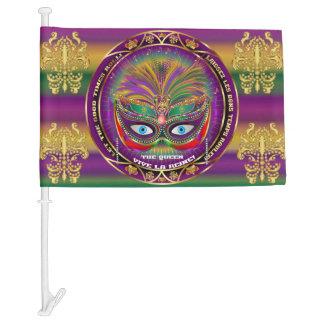 Mardi Gras Queen 1 HOT Read my Description Below Car Flag