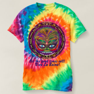 Mardi Gras Queen 2 view notes below T-Shirt
