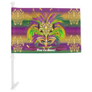 Mardi Gras Queen 3 HOT Read my Description Below Car Flag
