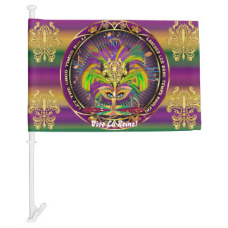 Mardi Gras Queen 4 HOT Read my Description Below Car Flag