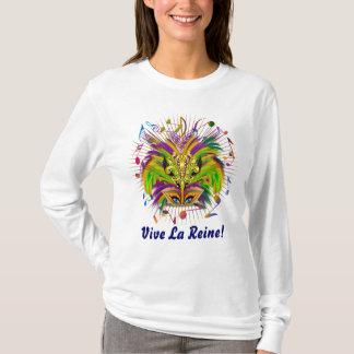 Mardi Gras Queen Light View Notes Plse T-Shirt