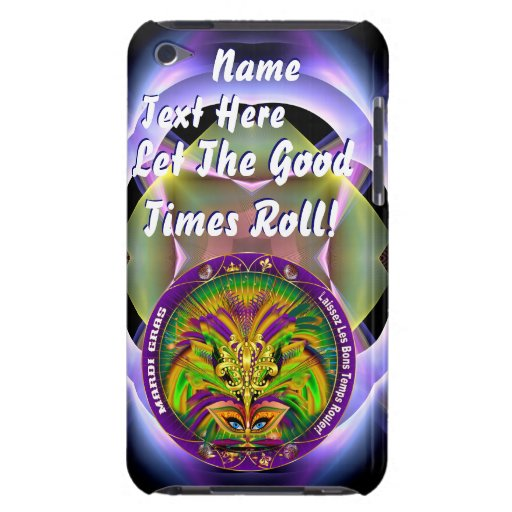 Mardi Gras Queen Style 2 View Notes Plse iPod Touch Cases