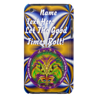 Mardi Gras Queen Style 2 View Notes Plse iPod Touch Covers