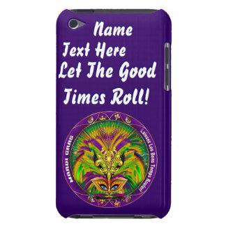 Mardi Gras Queen Style 2 View Notes Plse iPod Case-Mate Case