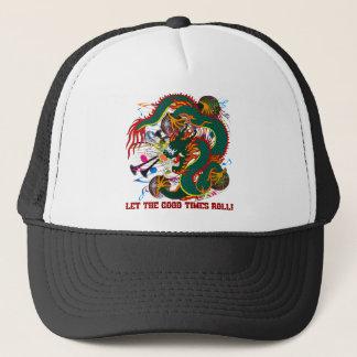Mardi Gras The Dragon Trucker Hat