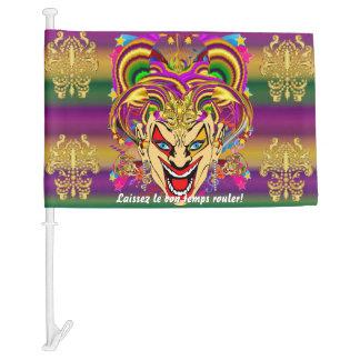 Mardi Gras The Jester HOT Read Description Below Car Flag