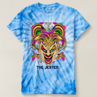 Mardi Gras The Jester Mens view notes below T-Shirt