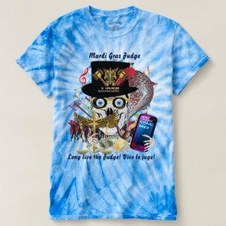 Mardi Gras Who Da Judge?! 2 Mens view notes below T-Shirt