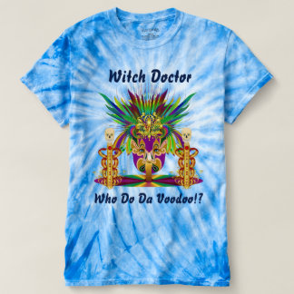 Mardi Gras Witch Doctor 2 Mens view notes below T-Shirt
