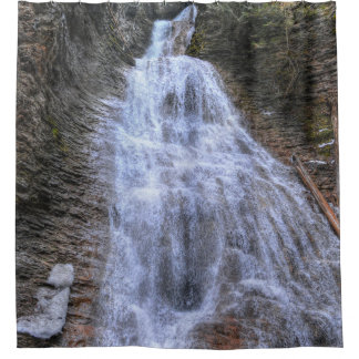 Margaret Falls, BC Nature Scenic Photo Design Shower Curtain