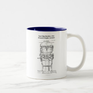 Margaret Knight, Inventor of the Paper Bag Machine Two-Tone Coffee Mug