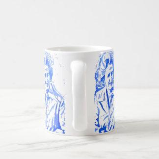 Margaret Thatcher Pop Art Portrait Coffee Mug