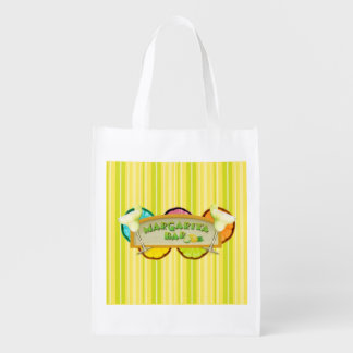 Margarita bar reusable grocery bag