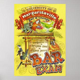 Margarita Poster=Pass The Bar Exam Poster