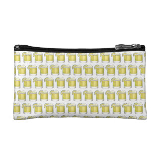Margarita Summer Cocktail Mixed Drink Lime Green Cosmetic Bag