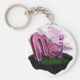 Mari Basic Round Button Key Ring