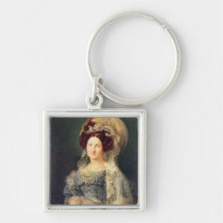 Maria Christina de Bourbon Key Ring