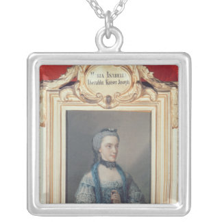 Maria Isabella of Parma Silver Plated Necklace