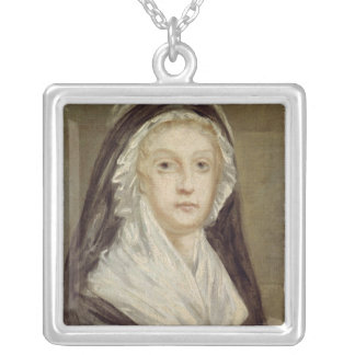 Marie Antoinette  at the Conciergerie Silver Plated Necklace
