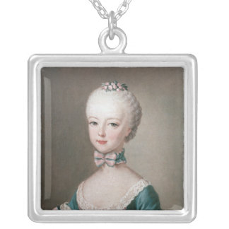 Marie Antoinette Silver Plated Necklace