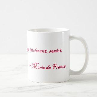 Marie de France Quote Basic White Mug
